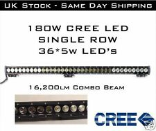 180w LED CREE SPOT FLOOD COMBO LIGHT BAR OFFROAD SUV 4WD JEEP TRUCK DRIVING LAMP