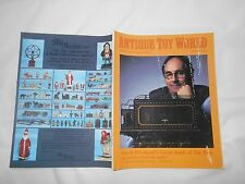 ANTIQUE TOY WORLD Magazine-FEB,1996-DAVID PRESSLAND'S GREAT BOOK OF TIN TOYS
