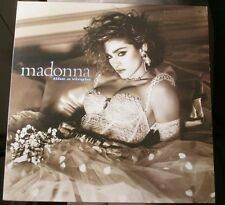 #MADONNA Like A Virgin LP Sire 25157-1 US 1984 White #Vinyl gold promo record DJ