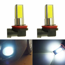 9005 SUPER BRIGHT BIG COB CHIP LED PROJECTOR LENS Fog Lamp Bulbs - WHITE- 2PC