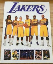 2014 - 2015 Los Angeles LAKERS Official Yearbook-30th ANNIV. 1985 Championship
