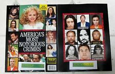 AMERICA'S MOST NOTORIOUS CRIMES In Touch SPECIAL EDITION 96 Pages CHARLES MANSON