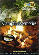Living Art CAMPFIRE MEMORIES: FOREST STREAM RELAXATION w/ NATURAL SOUNDS & MUSIC