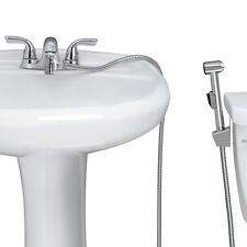 KES Warm Water Handheld Bidet for Faucet with Brass Diverter/Adapter,LP900+PV10