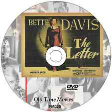 The Letter -Bette Davis, Herbert Marshall Film Movie on DVD 1940