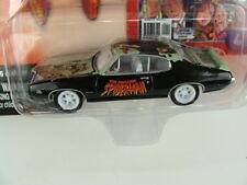 Johnny Lightning 1969 Pontiac GTO Spiderman White Lightning