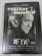 EL MAQUINISTA DE LA GENERAL BUSTER KEATON + EL TERCER HOMBRE 2 X DVD NEW NUEVAS