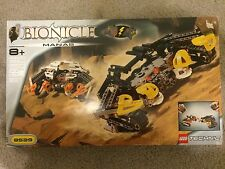 Lego Technic Bionicle Manas 8539 Rare Discontinued Complete Set With Box