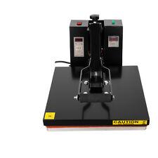 """15""""X15""""Termopressa Pressa a Caldo Printing Transfer T-Shirt calore pressa 24.5kg"""