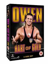 WWE . Owen Hart . Hart Of Gold . Wrestling . 3 DVD . NEU . OVP