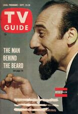 1961 TV Guide September 23 - Mitch Miller, Mary Tyler Moore; Gena Rowlands;Benny