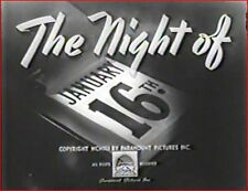 NIGHT OF JANUARY 16th 1941 Action Thriller w/Robert Preston, Ellen Drew