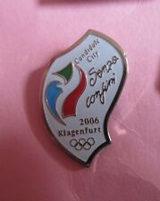 2006 KLAGENFURT AUSTRIA WINTER OLYMPICS  BID PIN BADGE