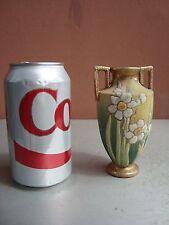 """Nippon Coralene 4.5"""" Floral Vase"""