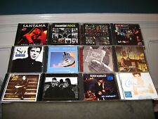 Rock CD Lot Santana, U2, Billy Joel, REO, Pink Floyd, Dire Straits