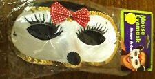Mouse Eyemask Costume Accessory Minnie Mouse Adult Satin & Sequin