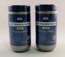 4Life Transfer Factor PLUS * Tri-Factor FORMULA * (2) Pack of 60 cap BOTTLES