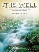 It Is Well: 10 Beloved Hymns for Memorial Services Piano Solo Songbook, Purifoy,