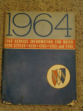 1964 Service Information for Buick - Body Styles 4255 4265 4355 4365