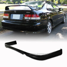 TR Style Polyurethane Rear Lower Bumper Lip Spoiler For 96-98 Honda Civic 2/4DR