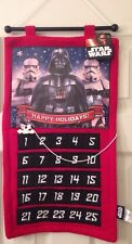 Star Wars Advent Calendar Christmas Hanging Darth Vader Storm Trooper Holiday
