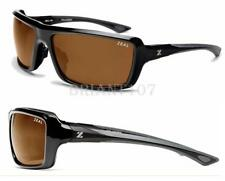 New Sunglasses Zeal Optics All In 10029 Black/Brown w/Polarized Lens $90-Japan
