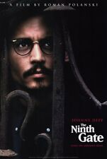 THE NINTH GATE Movie POSTER 27x40 Johnny Depp Frank Langella Lena Olin