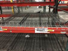 """WIRE DECKING  72"""" WIDE X 60"""" DEEP , CLEAN  , HD FOR 6' - 12' BEAMS , 4 SUPPORT"""