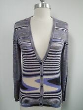 MISSONI ORANGE LABEL cashmere and silk cardigan sweater Italian 42 WORN ONCE