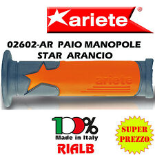"Paio Manopole Arancione STAR GRIP - SUPERSOFT GEL "" ORIGINALI ARIETE "" 02602-AR"