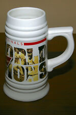 ST LOUIS CARDINALS BUDWEISER SGA 2011 WORLD SERIES CHAMPS BEER STEIN NEW 5000552