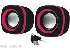 Quantum QHM602 Speaker USB 2 Mini Speakers + Bill