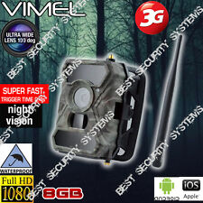 Home Security Video Camera 3G GSM 8GB Trail Outdoor Motion Anti Theft Vandal