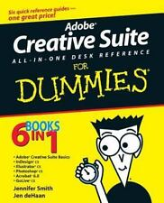 Adobe Creative Suite All-in-One Desk Reference For Dummies Smith, Jennifer, deH