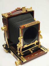 Tachihara 4x5 ( 5x4 ) Wood/Brass Folding Field Camera. Stock No c0790
