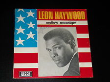 45 tours SP - LEON HAYWOOD - MELLOW MOONLIGHT - 1968