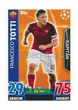 TOPPS Champions League - 448 - Francesco Totti - Base Card