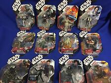 Star Wars 3.75 in Action Figures saga legends lot of 12 New And Rare 30th Lot C