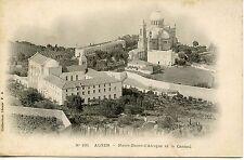 POSTCARD / CARTE POSTALE ALGERIE / ALGER NOTRE DAME D'AFRIQUE ET LE CARMEL