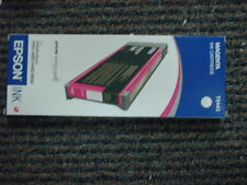 GENUINE EPSON T5443 MAGENTA INK STYLUS PRO 4000/4400/9600 FACTORY SEALED OEM NEW