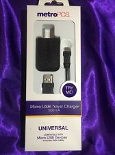MetroPCS Micro USB Travel Charger 1000 mA