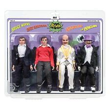 Batman 66 Classic TV Show Mego Style 8 Inch Figures Series 2 Four-Pack