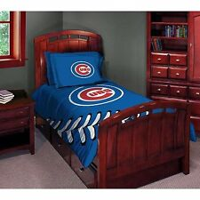 Chicago Cubs MLB Twin/Full Comforter Pillow Sham Set FREE US SHIPPING