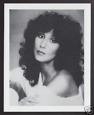CHER Movie TV Star Singer Actress 1995 WHO'S WHO GAME CANADA PHOTO TRIVIA CARD
