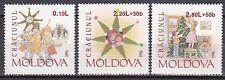 MOLDOVA 1996 **MNH SC# 222 - 224 Christmas stamps