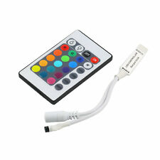 Mini 24Key IR Remote Controller Wireless For 3528 5050 RGB LED Strip JL