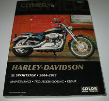 Repair Manual Harley Davidson XL Sportster 2004-2011 Maintenace Troubleshooting