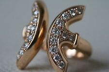 HOORSENBUHS GOLD AND DIAMOND REVERE RING