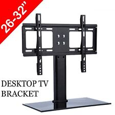 "LCD LED Plasma TV Stand Bracket Tabletop VESA Mount Monitor Riser Rack 26-32"" US"