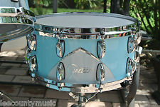"GRETSCH '57 RENOWN 14"" SNARE DRUM in MOTOR CITY BLUE for YOUR DRUM SET! LOT #J75"